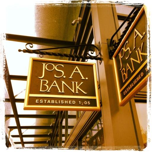 at the corner of bank + bank