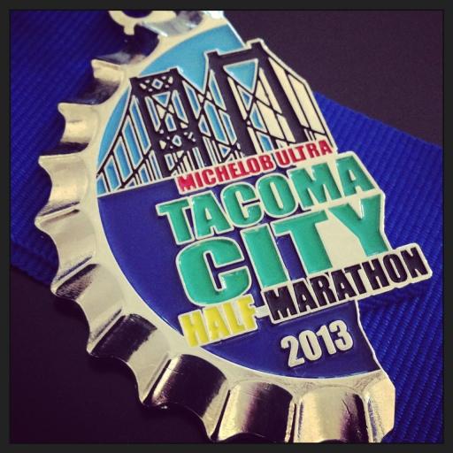 half a marathon...half a medal