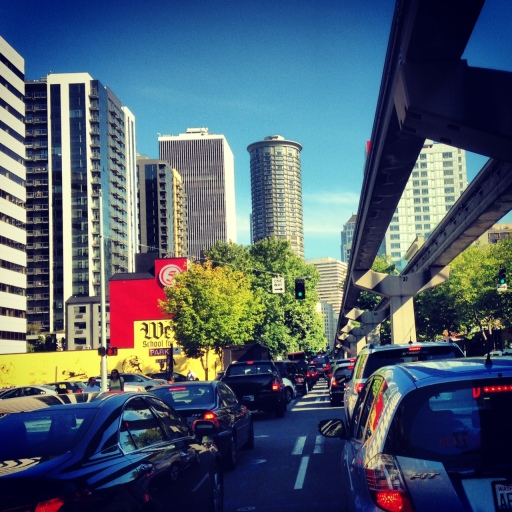 ridiculous seattle traffic