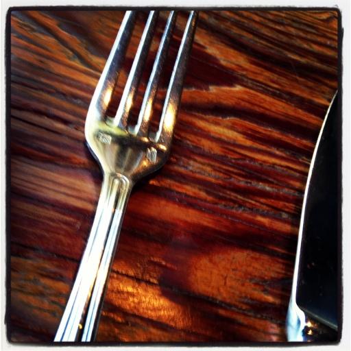 knife + fork